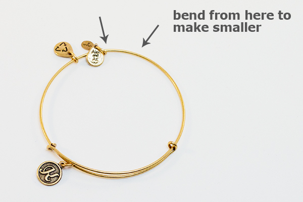 Alex And Ani Bend To Make Smaller