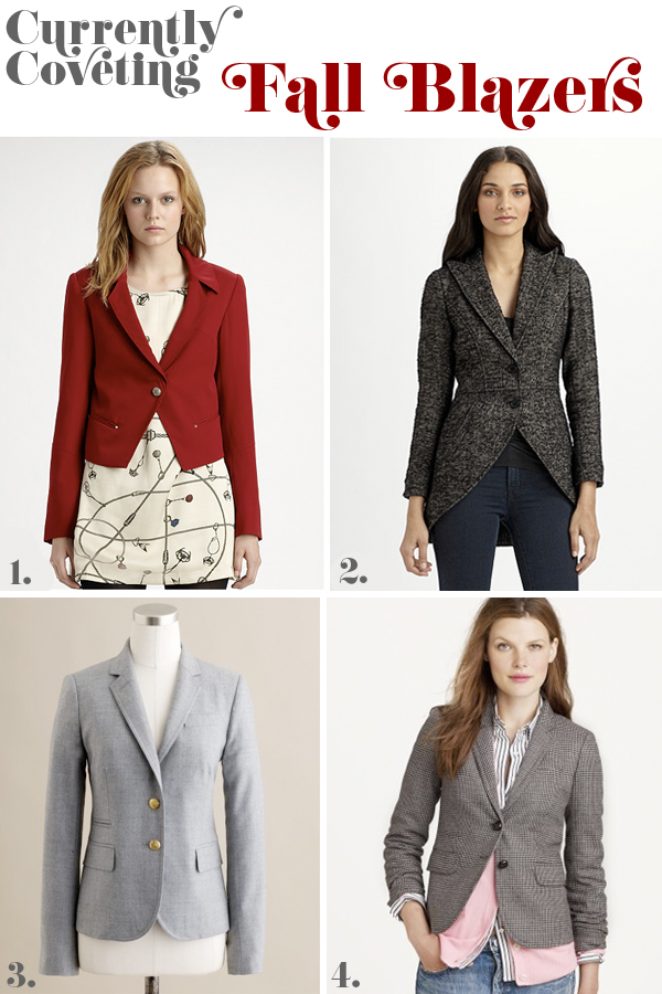 Currently Coveting: Fall Blazers
