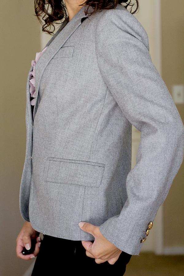 J.Crew Schoolboy Blazer Side Seam