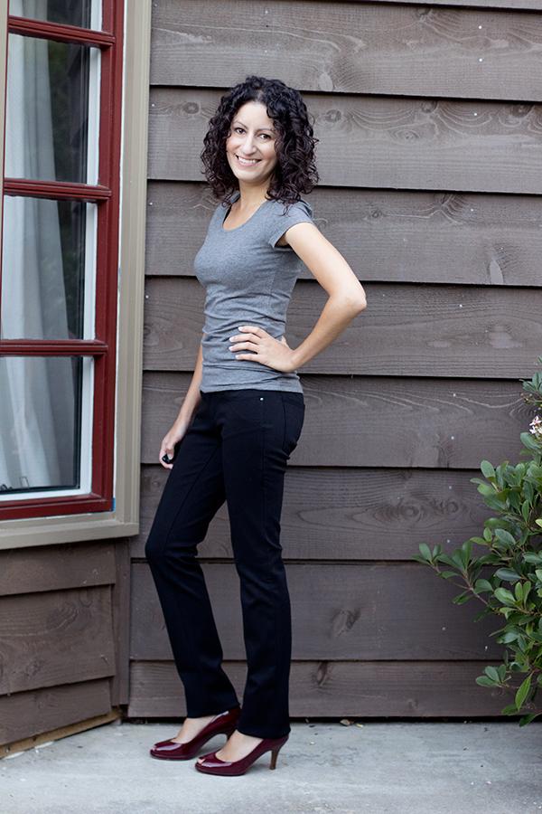 Ann Taylor Petite Slim Knit Pants