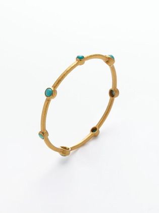 Small Bangle Bracelet Alert on Gilt Groupe