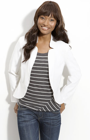Nordstrom jacket white