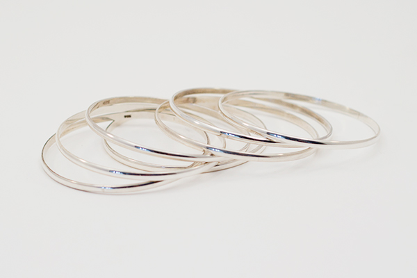 SOLD OUT – Sterling Silver Small Size Bangle Bracelets for Sale