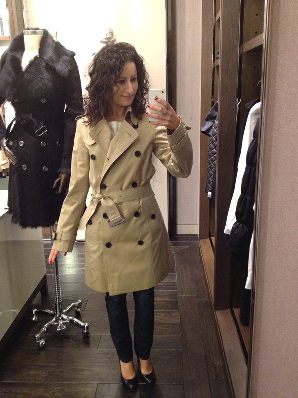 New Size: Burberry Size 0
