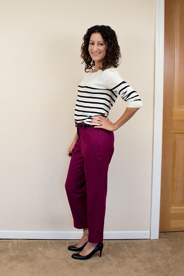 Cool Black Sweaters Maroon Pants  QuotTrench Coatquot By Blogdale  Chictopia