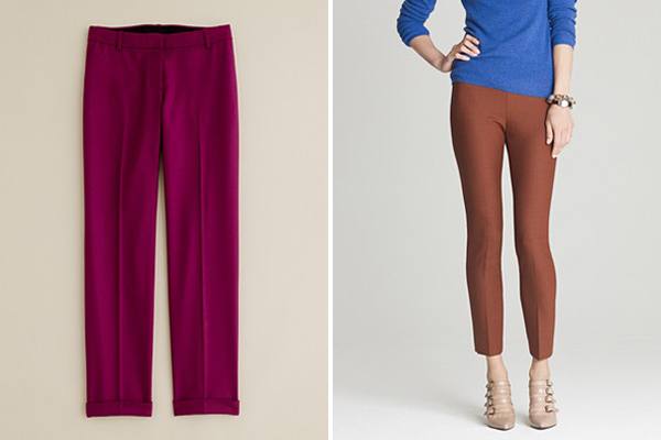 The Great Pant Search Continues: Maroon/Deep Red Pants