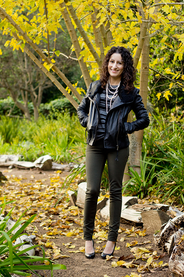 Blogger's First Leather Jacket