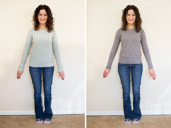 Shrinking The J Crew Honeycomb Sweater Alterations Needed