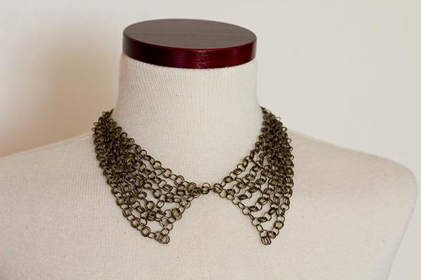 My collar necklace wants weren 39t satisfied