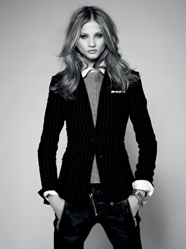 Pocket Squares for Women in Fall 2012 Campaigns