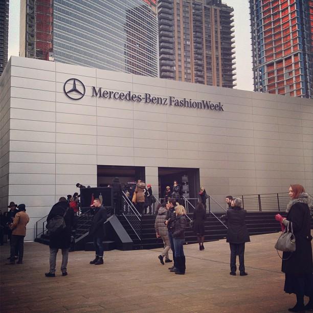 Adventures at New York Fashion Week