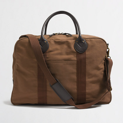 Rugged duffel for the guy in your life.
