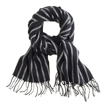 I like how this scarf can be masculine or feminine