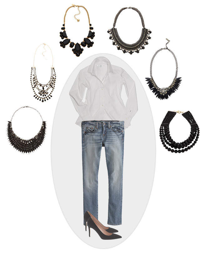 Currently Coveting: Black Statement Necklace