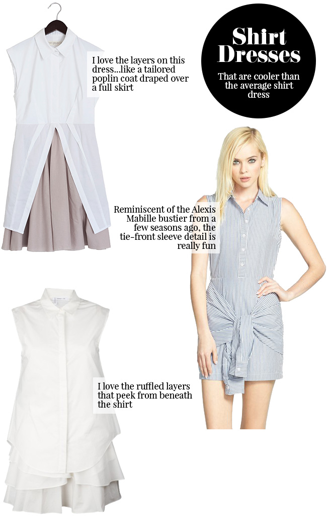 Currently Coveting – Cool Shirt Dresses