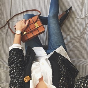 Sunday #ootd :: taking my new bag out for a…