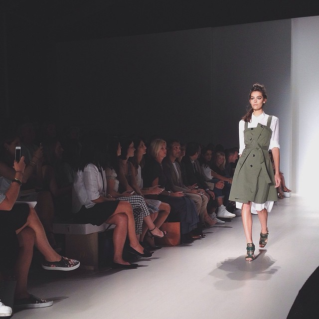 My girl @marissawebbnyc never disappoints. #spring2015 #nyfw