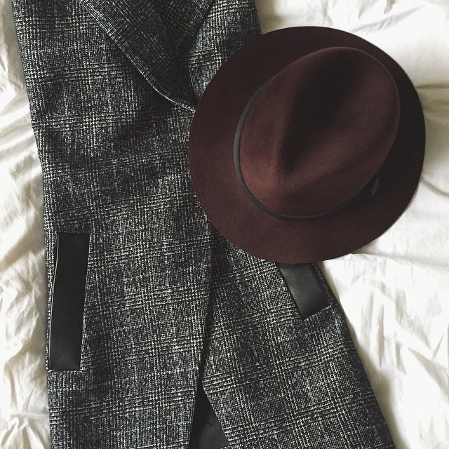 Okay, @rag_bone . Now that this burgundy beauty has joined the family, you can stop tempting me with the perfect fedora every season in the perfect colors. I'm all stocked up. Ps. @thedreslyn still has size small left & 20% off w/code LASTCHANCE ;) @liketoknow.it www.liketk.it/K9f6 #liketkit