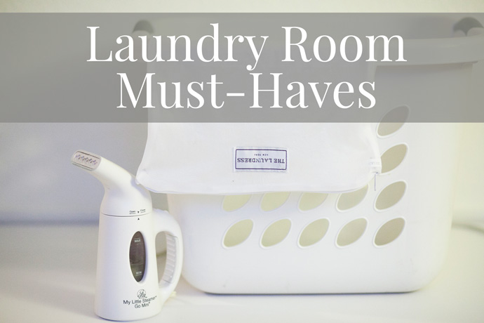 My Laundry Room Must-Haves