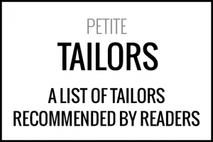 List of tailors recommended by petites