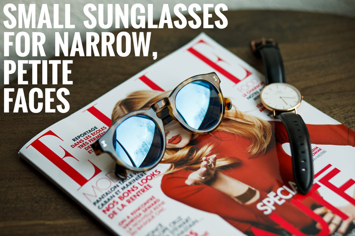 small sunglasses for narrow petite faces
