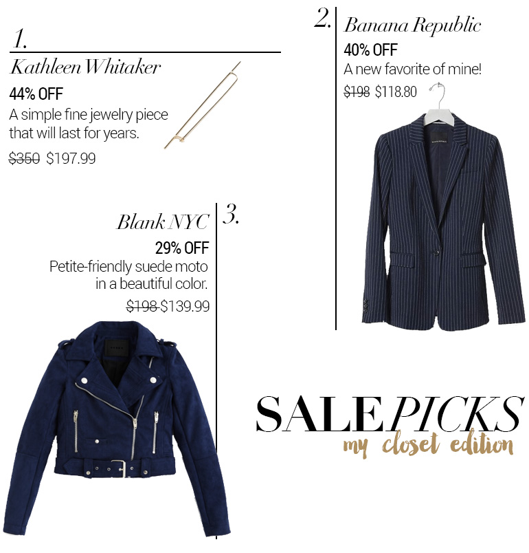 Weekend Sales & Coupon Codes + Picks: My Closet Edition