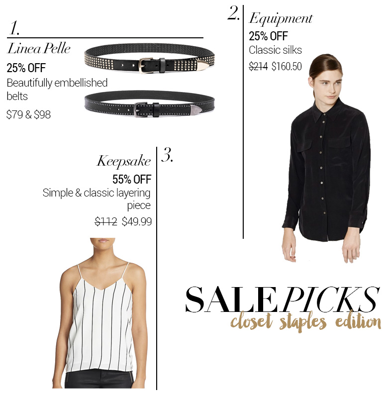 Weekend Sales & Coupon Codes + Picks: Closet Staples Edition