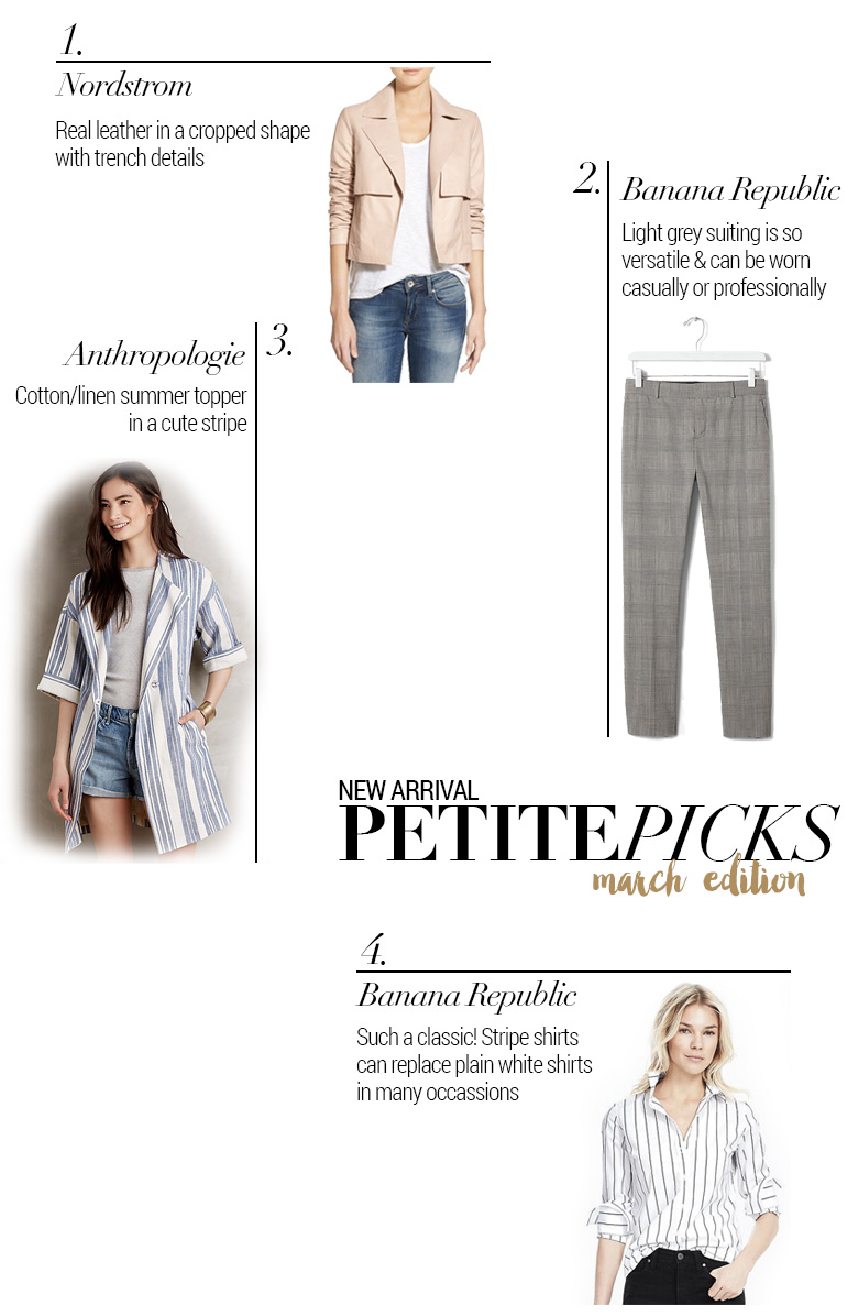 New Petite Arrivals – March Edition