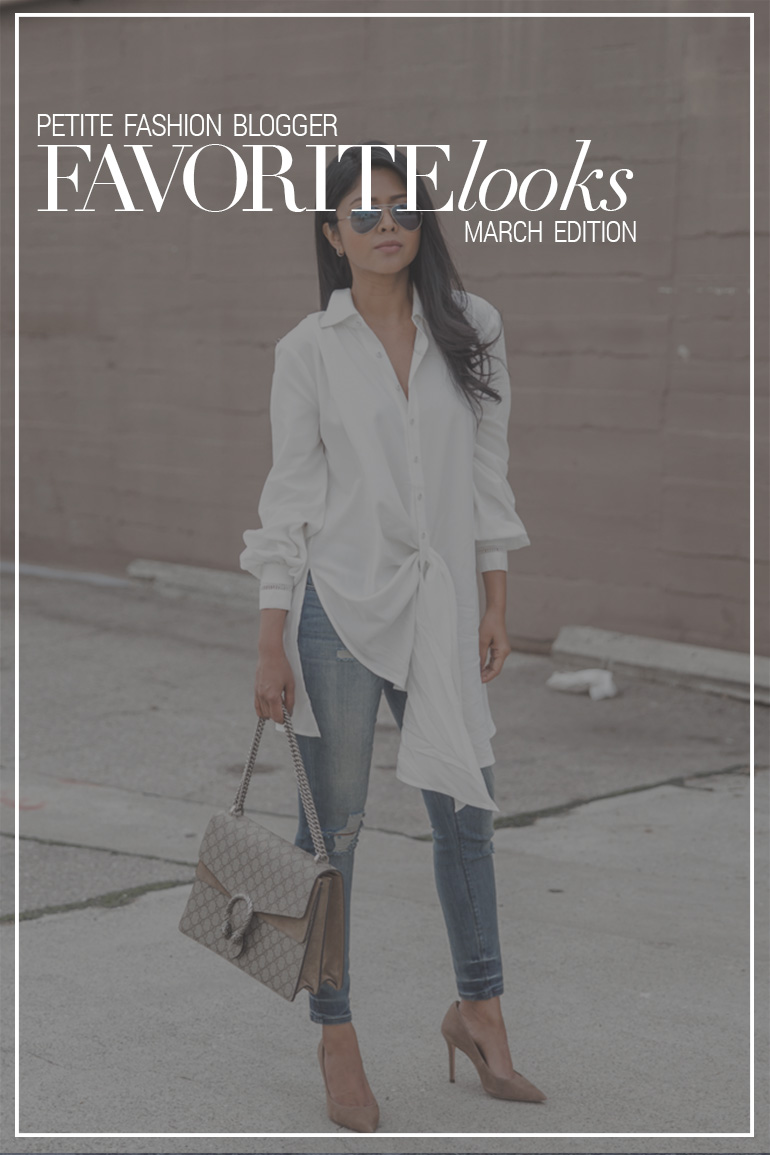 Petite Fashion Blogger Favorite Looks – March Edition