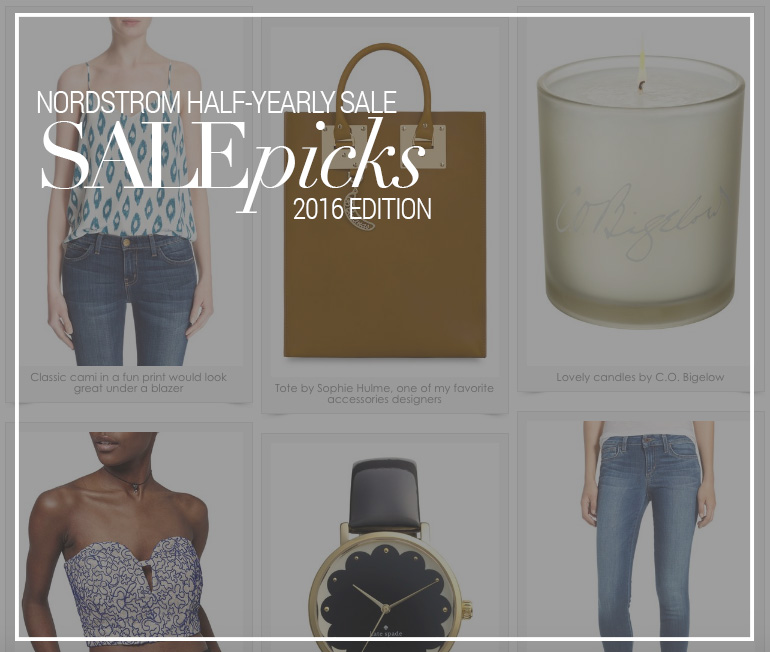 Nordstrom Half-Yearly Sale + Picks