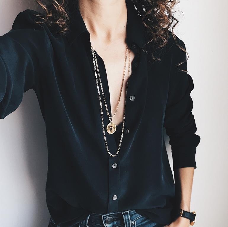 Fit Review – Everlane Slim Silk Shirt