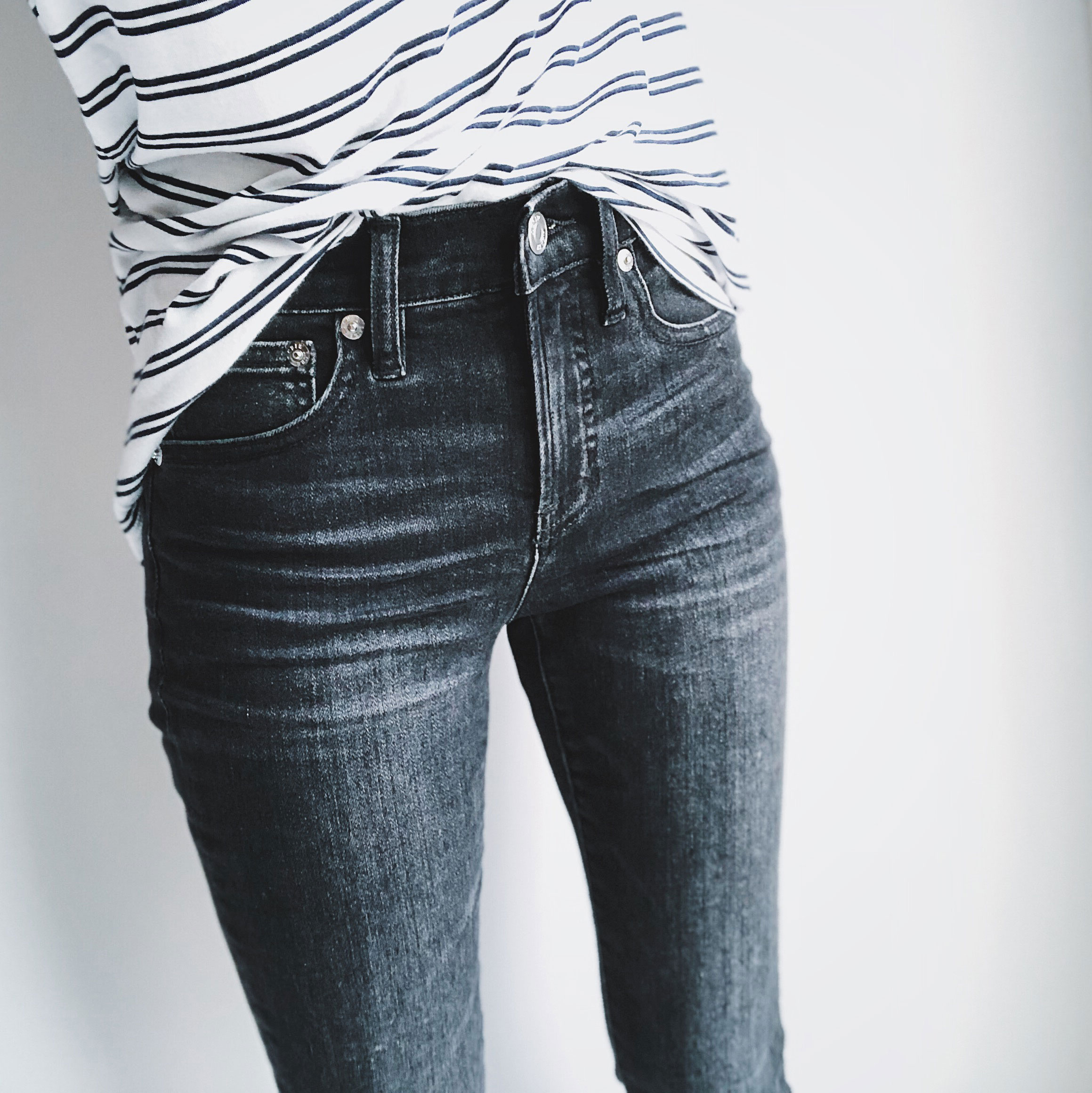 J.Crew Petite 9″ High Rise Toothpick Jean Review
