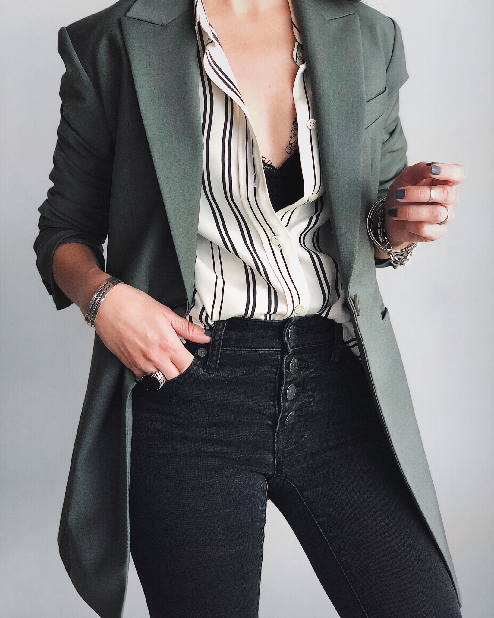 theory long blazer