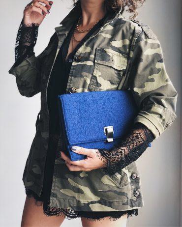 outfit-idea-camo-jacket-lace-blouse