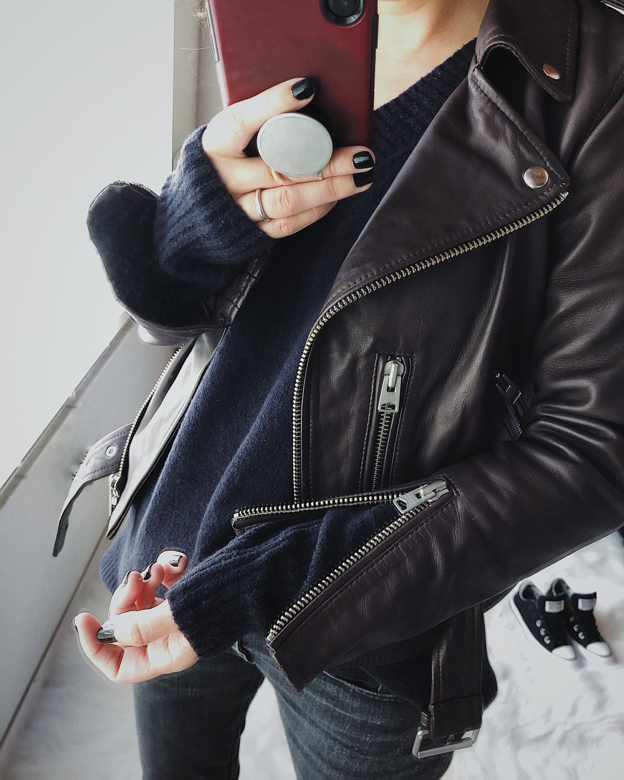 Easy Way To Style Your Leather Jacket