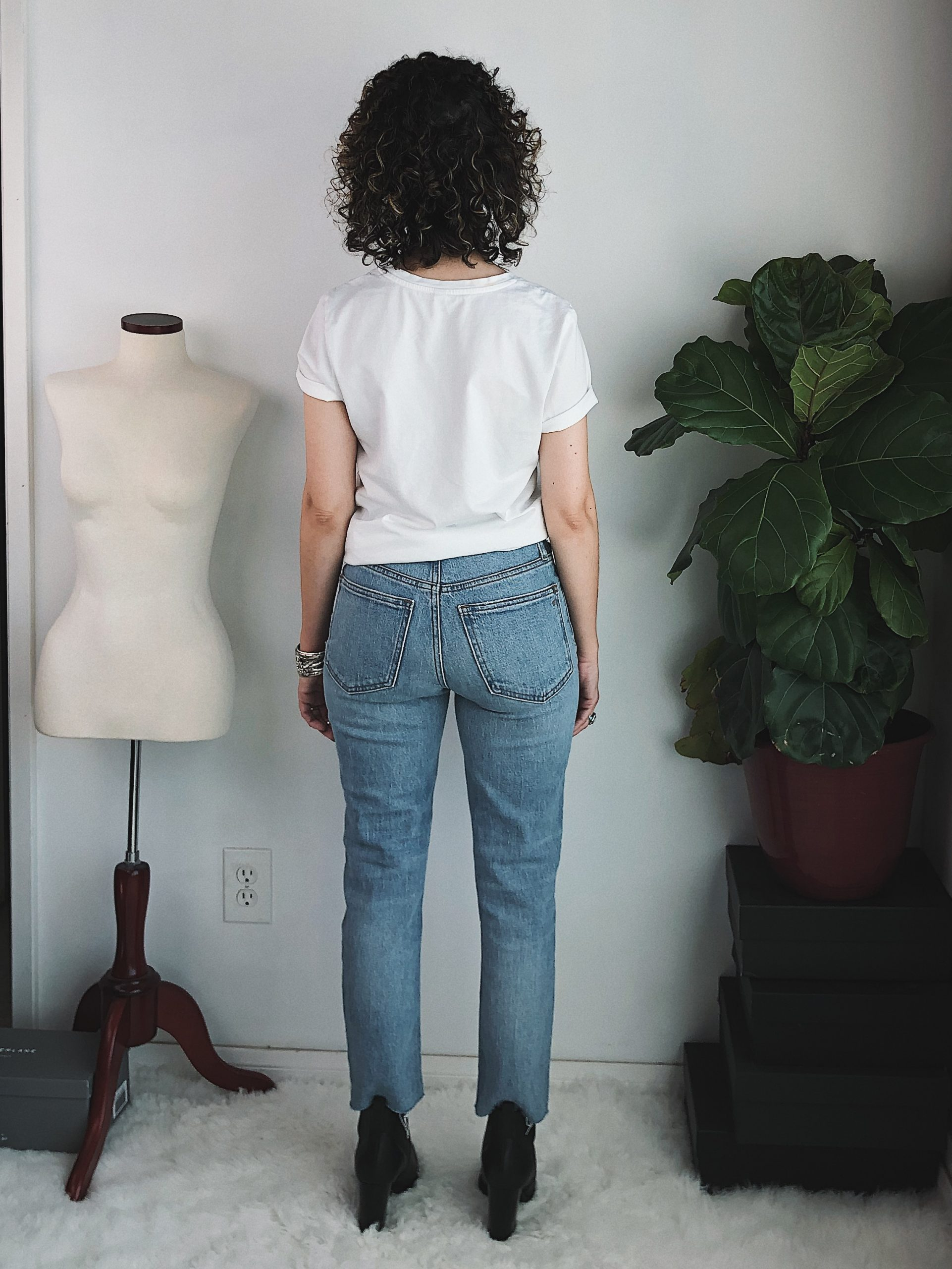 madewell petite perfect vintage jean denim review
