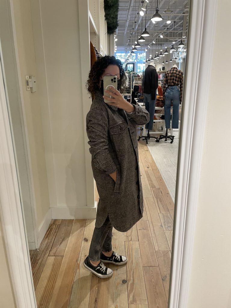 Madewell plaid jacket